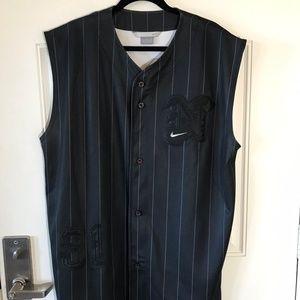 NIKE Button Front Sleeveless Jersey #31 ~ Size XL
